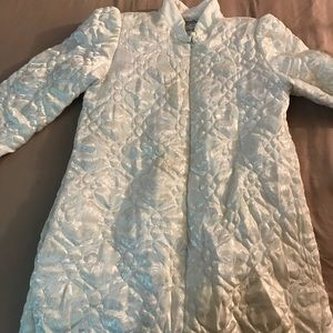 1980s Christian Dior loungewear quilted coat